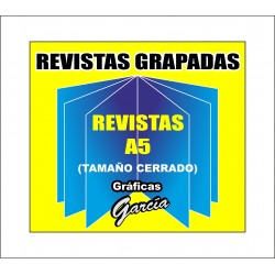 Revistas Grapadas - DIN-A5